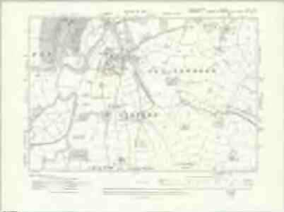 Denbighshire XXII.NE - OS Six-Inch Map
