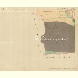 Ungarschitz - m3195-1-003 - Kaiserpflichtexemplar der Landkarten des stabilen Katasters