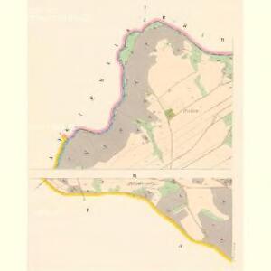 Pietschin (Pieczin) - c5749-1-001 - Kaiserpflichtexemplar der Landkarten des stabilen Katasters