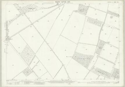 Suffolk XXI.11 (includes: Eriswell; Icklingham; Mildenhall) - 25 Inch Map
