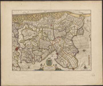 Hollandiæ pars septentrionalis, vulgo Westvriesland en 't Noorder Quartier