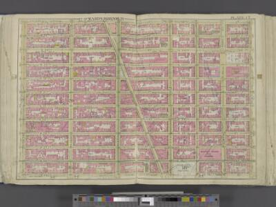 Manhattan, Double Page Plate No. 17 [Map bounded by E. 36th St., Lexington Ave., W. 25th St., 8th Ave.]