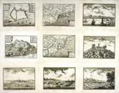 Plan de la citadelle dessignée a faire au Montiuich pres Barcelone