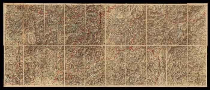 Mapa del norte de Marruecos