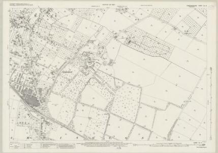 Cambridgeshire XL.6 (includes: Histon; Impington; Milton) - 25 Inch Map