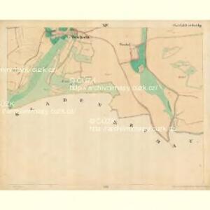 Weichseln - c8980-1-014 - Kaiserpflichtexemplar der Landkarten des stabilen Katasters