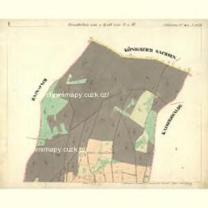Schönau - c8462-1-001 - Kaiserpflichtexemplar der Landkarten des stabilen Katasters