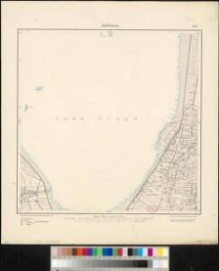 Meßtischblatt 1111 : Jadebusen, 1900