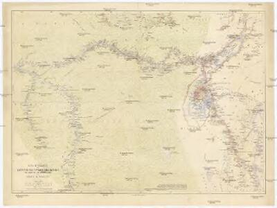 Routenkarte der Expedition zum Entsatze Emin Pascha's vom Kongo bis zum Victoria-Njasa