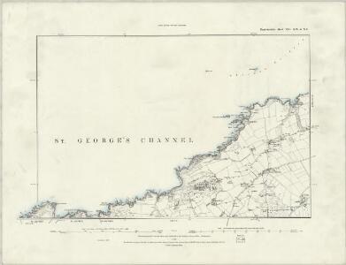 Pembrokeshire XIV.SE - OS Six-Inch Map