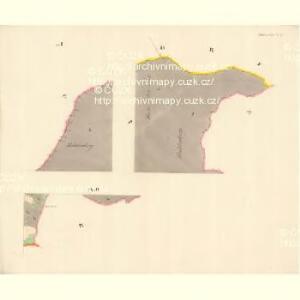 Dittersdorf (Getrzichow) - m0441-1-009 - Kaiserpflichtexemplar der Landkarten des stabilen Katasters