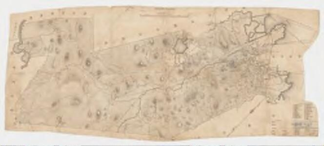[Map of the town of Roxbury : surveyed by order of the town authorities