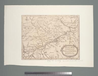 Seat of war in the environs of Philadelphia / by Thos. Kitchin Senr., hydrographer to His Majesty.