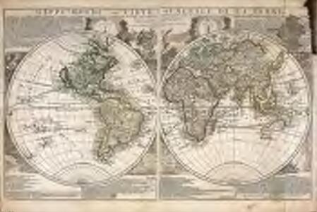 Mappe-Monde, ou Carte generale de la terre