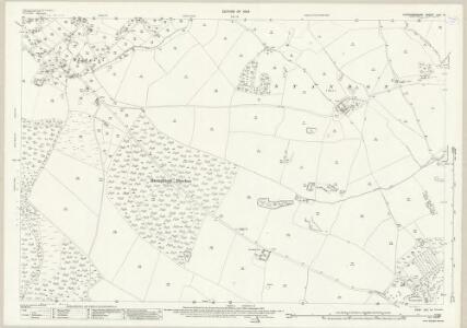 Staffordshire XXII.16 (includes: Ashley; Eccleshall; Tyrley) - 25 Inch Map
