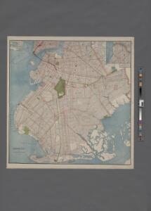[Map of Brooklyn.]