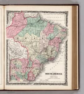 South America (eastern sheet).