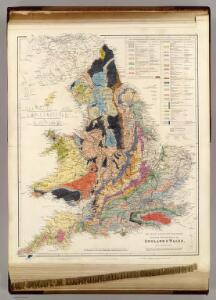 The Inland Navigation, Rail Roads, Geology and Minerals of England & Wales.