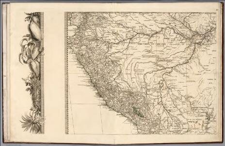 (Sheet 3)  Mapa Geografico De America Meridional.