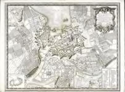 Plan de la ville de Genève