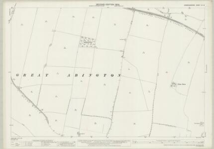 Cambridgeshire LV.13 (includes: Great Abington; Hildersham; Linton; Pampisford) - 25 Inch Map