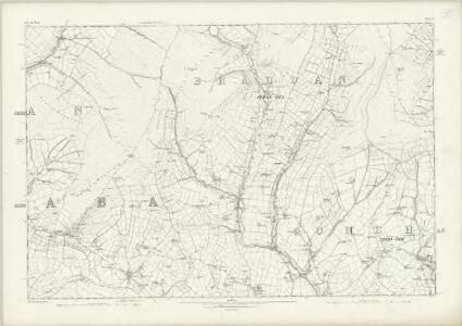 Isle of Man X - OS Six-Inch Map
