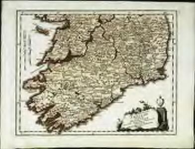 Des Königreichs Ireland Provinz Mounster mit dem sudlichen Theile der Provinzen Leinster und Con[n]aught