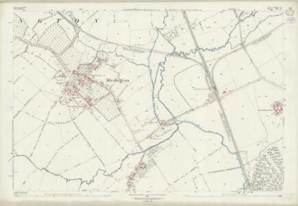 Gloucestershire XXIX.8 (includes: Bledington; Churchill; Idbury; Kingham) - 25 Inch Map