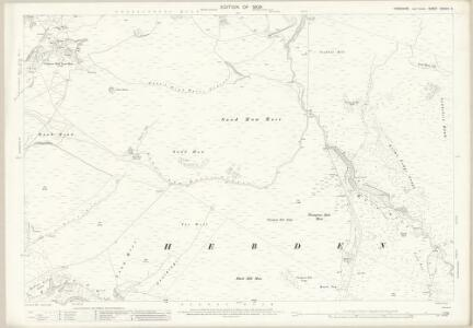 Yorkshire CXXXIV.3 (includes: Grassington; Hartlington; Hebden) - 25 Inch Map