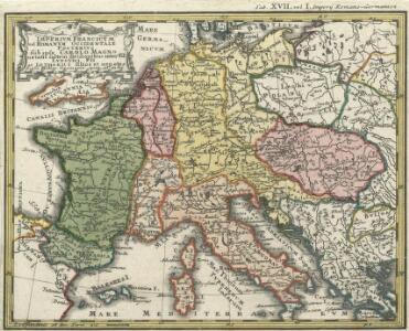 Imperivm Francicvm vel Romanvm Occidentale Posterivs sub ipso Carolo Magno