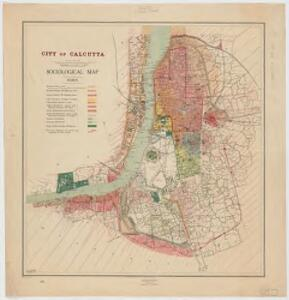 City of Calcutta : sociological map