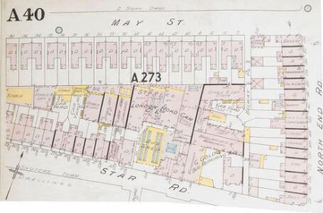 Insurance Plan of London Western District Vol. A: sheet 40-1