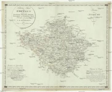 Südlicher Theil von Boehmen enthaltend den Klatttauer, Berauner, Taborer, Prachiner und Budweiser Kreis