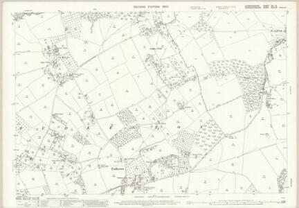 Herefordshire XIII.10 (includes: Bockleton; Hatfield; Laysters; Pudlestone) - 25 Inch Map