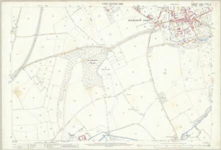 Somerset LXXXIV.8 (includes: Henstridge; Stalbridge) - 25 Inch Map
