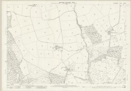 Shropshire LXXIII.16 (includes: Kinlet; Neen Savage) - 25 Inch Map