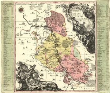 Praefecturae Saxonicae Wurcensis Eilenburgensis Dubensis Geographica accuratione, secundum oppida vicos pagos, vicinias descriptae