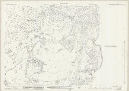 Herefordshire XLII.2 (includes: Berrow; Castlemorton; Eastnor; Ledbury Rural) - 25 Inch Map