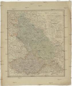 Charte von Schlesien und Maehren