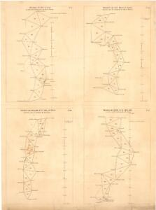 Trigonometrisk grunnlag, vedlegg 65, 6-9: Grunnlagspunkter for Struves meridianbue fra Vilnius, Hrodna og Kurland
