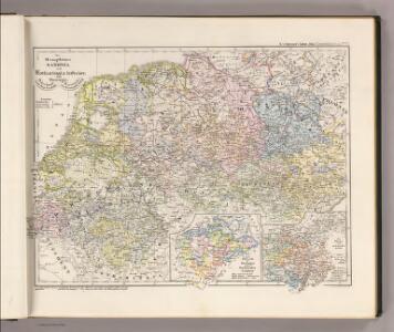 Die Herzogthuemer Saxonia und Lotharingia inferior; dann Thuringia, Osterland, Massia &c.