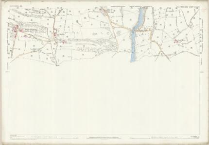 Westmorland XLVII.12 (includes: Burrow With Burrow; Casterton; Kirkby Lonsdale; Whittington) - 25 Inch Map