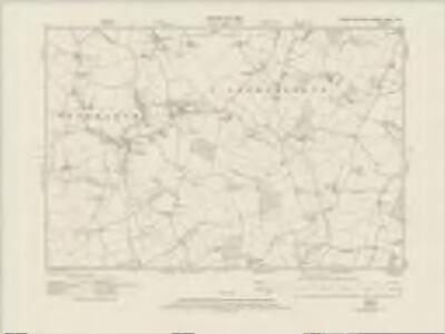 Essex nXVII.SW - OS Six-Inch Map