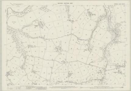 Cornwall LXXVII.13 (includes: Manaccan; St Martin in Meneage) - 25 Inch Map