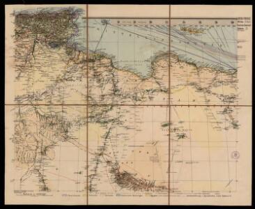 Spezial - karte von AfricaSektion Central-Sahara (2)