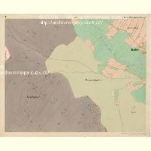 Haid - c9266-1-005 - Kaiserpflichtexemplar der Landkarten des stabilen Katasters
