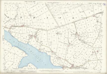 Yorkshire CLIII.13 (includes: Blubberhouses; Fewston; Great Timble) - 25 Inch Map