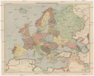 Europa nach dem Weltkriege