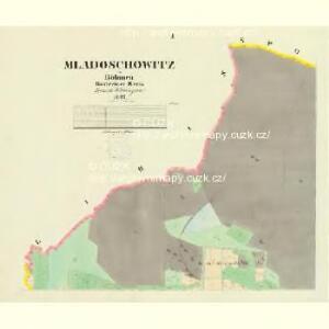 Mladoschowitz - c4743-1-001 - Kaiserpflichtexemplar der Landkarten des stabilen Katasters