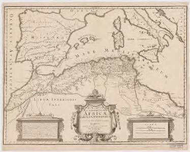 In notitiam ecclesiasticam Africae tabula geographica